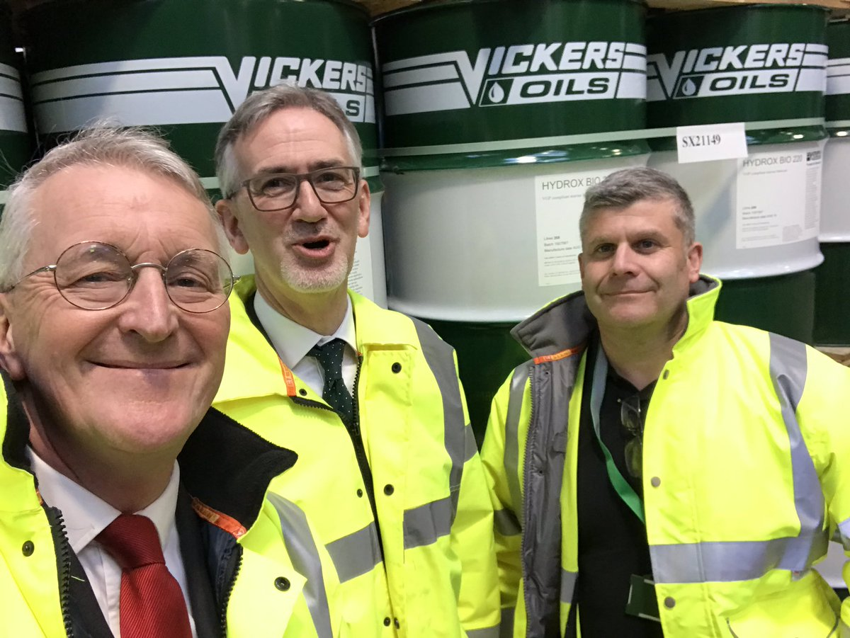 Inauguration of the new laboratory at Vickers Oils