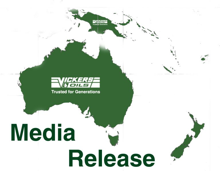 Vickers Oils announces the establishment of Vickers Oils (Australasia)