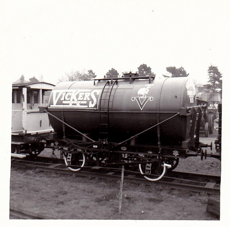 Vickers Oils Tank wagon on the track of the Great Central Railway- A journey of how it came about