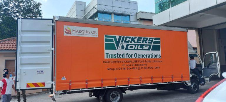 Successful collaboration with Marquis Oil for VICKERLUBE FG range